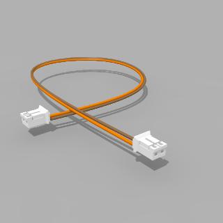 Kabel mit 2 JST Buchsen PH 2 polig 30 cm 26 AWG - RM 2,00 mm