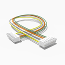 Kabel mit 2 JST Buchsen PH 7 polig 30 cm 26 AWG - RM 2,00 mm
