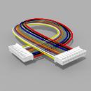 Kabel mit 2 JST Buchsen PH 10 polig 30 cm 26 AWG - RM...