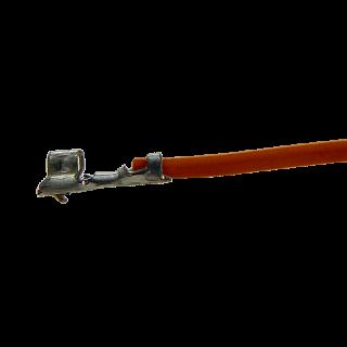 Litze mit einem Crimpkontakt für JST ZH Buchse, UL1571, AWG28, 40cm, orange
