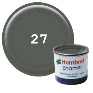 Humbrol 27 Enamel Farbe 14 ml MATT