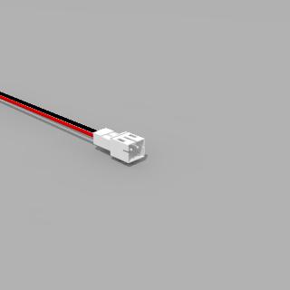 JST PH komp. Stecker 2 polig mit 20 cm Kabel 26 AWG RS - RM 2,0 mm
