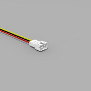 JST PH komp. Stecker 3 polig mit 20 cm Kabel 26 AWG - RM 2,0 mm