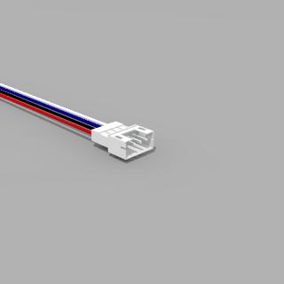 JST PH komp. Stecker 4 polig mit 20 cm Kabel 26 AWG - RM 2,0 mm
