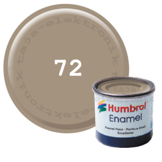 Humbrol 72 Enamel Farbe 14 ml MATT
