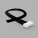JST Buchse ZH 6 polig mit 20 cm Kabel 24 AWG - RM 1,50 mm