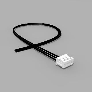 JST Buchse ZH 3 polig mit 20 cm Kabel 24 AWG - RM 1,50 mm