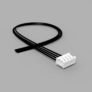 JST Buchse ZH 4 polig mit 20 cm Kabel 24 AWG - RM 1,50 mm