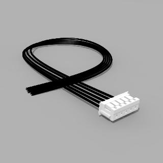 JST Buchse ZH 5 polig mit 20 cm Kabel 24 AWG - RM 1,50 mm