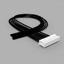JST Buchse ZH 8 polig mit 20 cm Kabel 24 AWG - RM 1,50 mm