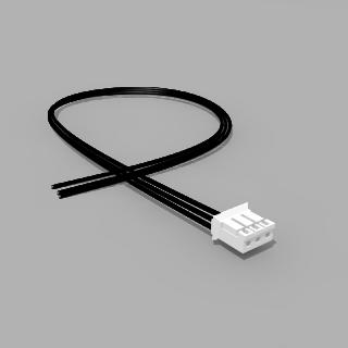 JST Buchse PH 3 polig mit 40 cm Kabel 20 AWG - RM 2,00 mm