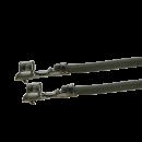 Litze mit zwei Crimpkontakten für JST ZH Buchse, UL1007, AWG28, 100cm, grau