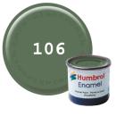 Humbrol 106 Enamel Farbe 14 ml MATT