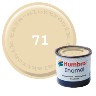 Humbrol 71 Enamel Farbe 14 ml Satin