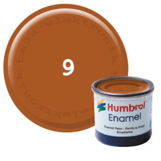 Humbrol 9 Enamel Farbe 14 ml Glanz