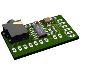 Externer Zusatzdecoder für SIKU Control32 Traktoren für Fahrregler