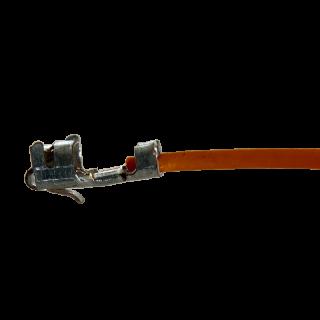 Litze mit einem Crimpkontakt für JST XH Buchse, UL1571, AWG28, 30 cm, orange
