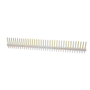 Stiftleiste 2,54 mm 40 polig gerade-weiß