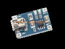 LIPO Ladeplatine 1 Zelle, USB 5 V, 1000 mA Ladestrom, Mini-USB Anschluß